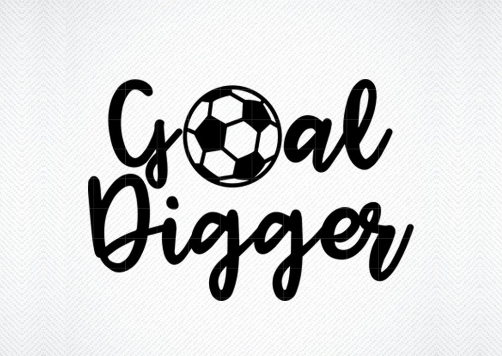 Download Free Goal Digger Graphic By Svg Den Creative Fabrica for Cricut Explore, Silhouette and other cutting machines.