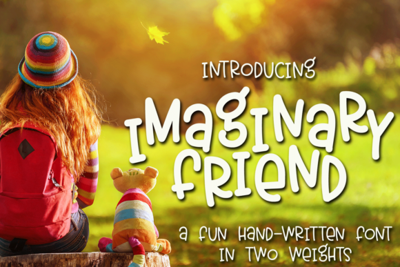 Print on Demand: Imaginary Friend Script & Handwritten Font By Ursa Bratina