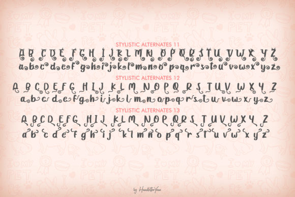 Print on Demand: Katty Purry Display Font By yean.aguste - Image 11