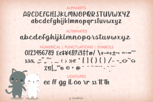 Print on Demand: Katty Purry Display Font By yean.aguste - Image 8