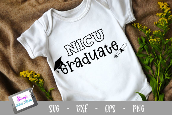 Download Free Nicu Graduate Graphic By Stacysdigitaldesigns Creative Fabrica for Cricut Explore, Silhouette and other cutting machines.