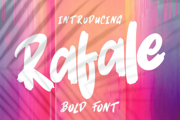 Print on Demand: Rafale Sans Serif Font By Vunira