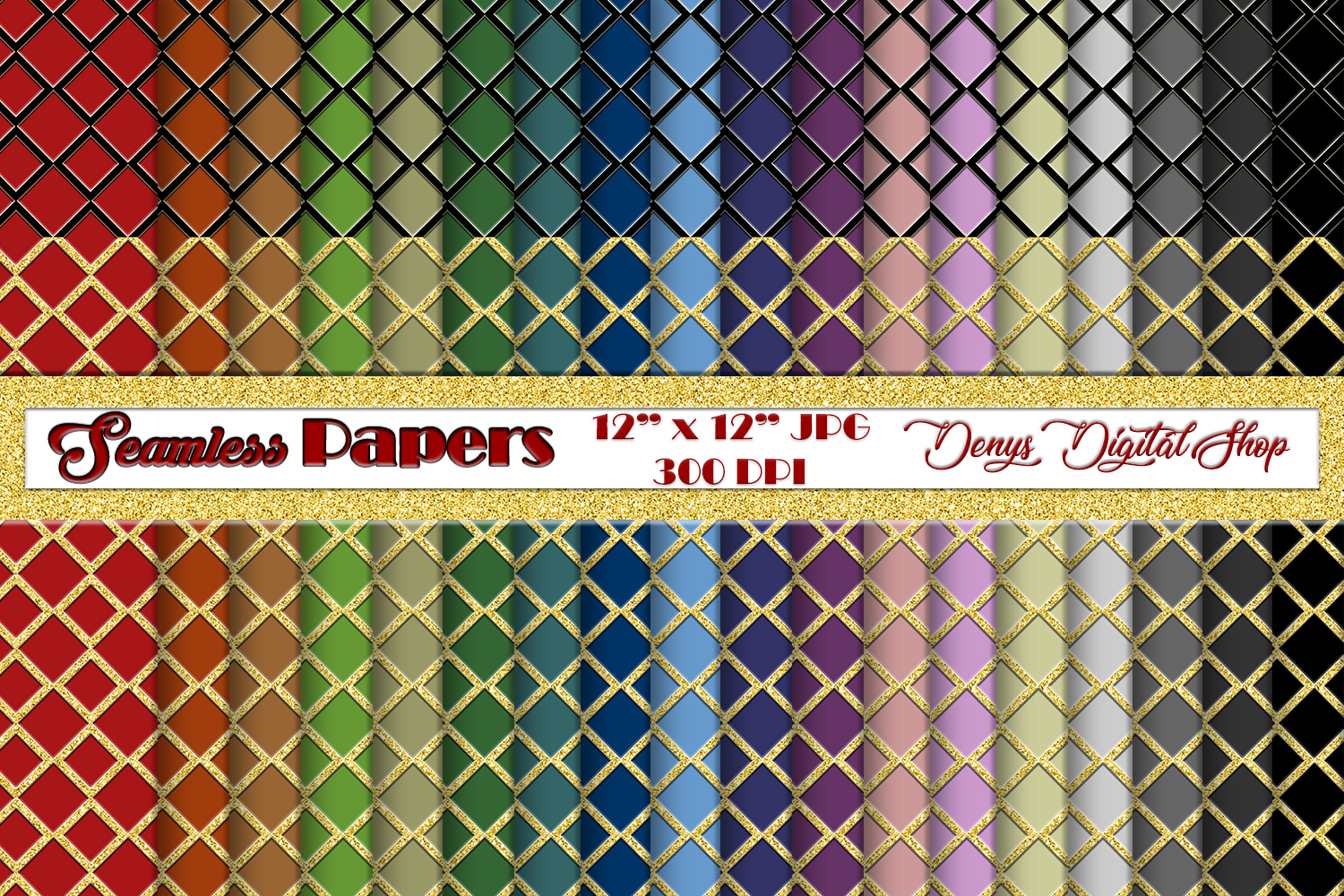 Download Free Seamless Papers Digital Scrapbook Paper Graphic By for Cricut Explore, Silhouette and other cutting machines.