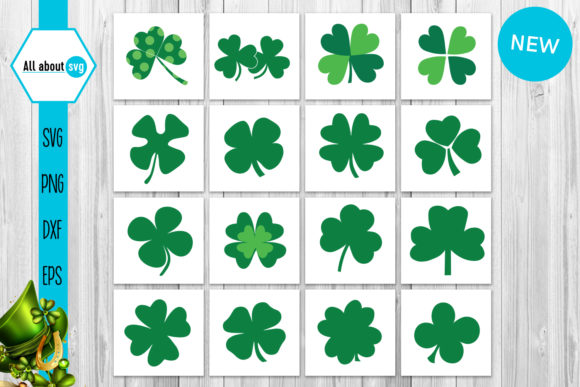 Shamrocks Bundle Graphic Crafts By All About Svg