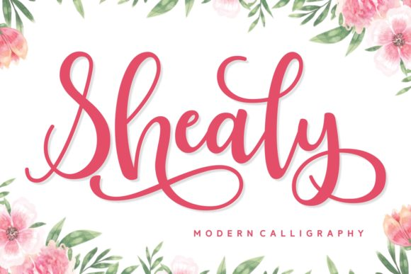 Print on Demand: Shealy Script & Handwritten Font By Keithzo (7NTypes) - Image 1