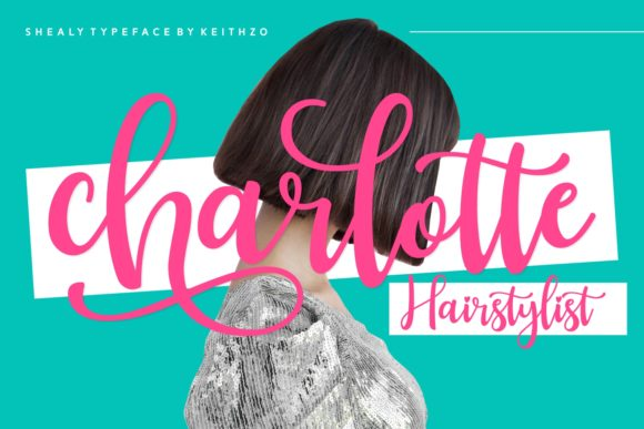 Print on Demand: Shealy Script & Handwritten Font By Keithzo (7NTypes) - Image 3