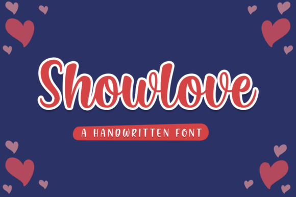 Print on Demand: Showlove Manuscrita Fuente Por Suby Store