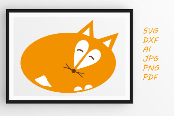 Print on Demand: Sleeping Fox Graphic Crafts By Tanja Dianova