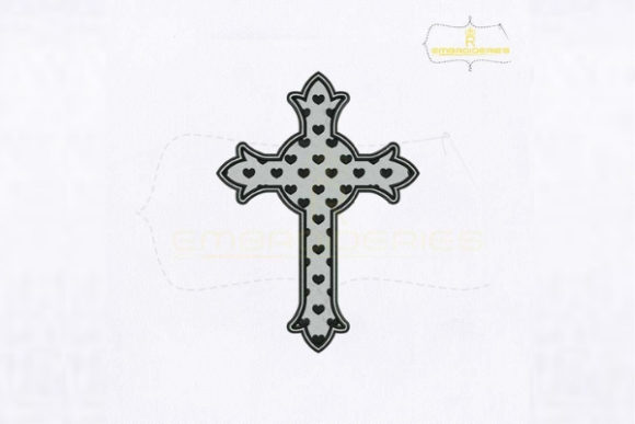Symbol of Christianity Cross Religion & Faith Embroidery Design By royalembroideries