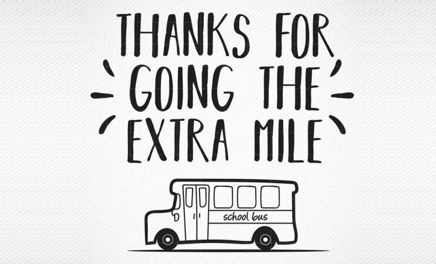 Download Free Thanks For Going The Extra Mile Graphic Graphic By Svg Den for Cricut Explore, Silhouette and other cutting machines.