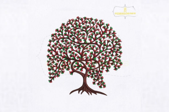 The Tree of Life Forest & Trees Embroidery Design By royalembroideries