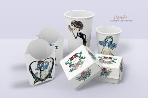 Valentine's Clipart Graphic Illustrations By Hippogifts - Image 8