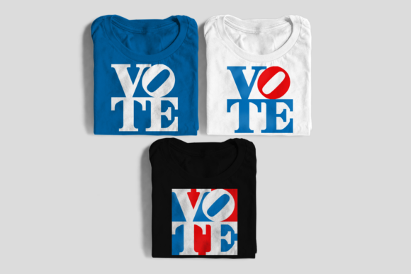 Vote Graphic Square Graphic Crafts By DesignedByGeeks