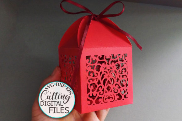 Wedding Favor Box Graphic Crafts By Cornelia