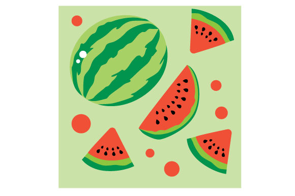 Watermelon Seamless Pattern Designs & Drawings Craft Cut File By Creative Fabrica Crafts