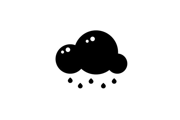 Download Free Rainy Weather Icon Svg Cut File By Creative Fabrica Crafts for Cricut Explore, Silhouette and other cutting machines.