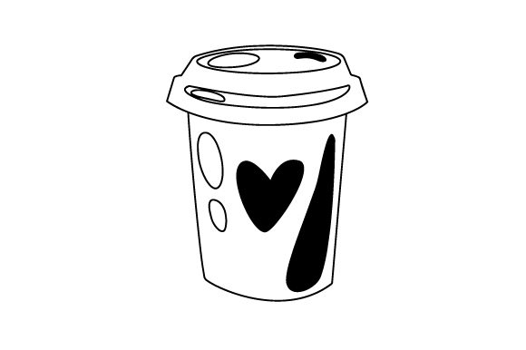 Download Free Love Coffee Svg Cut File By Creative Fabrica Crafts Creative for Cricut Explore, Silhouette and other cutting machines.