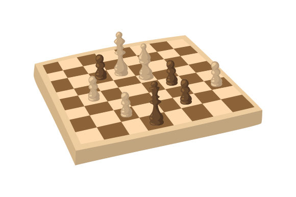 Chess Board Games Craft Cut File By Creative Fabrica Crafts - Image 1