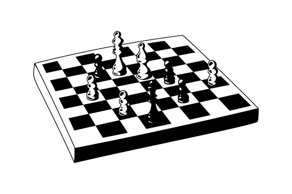 Chess Board Games Craft Cut File By Creative Fabrica Crafts - Image 2