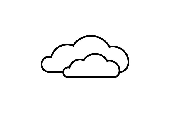 Download Free Cloudy Weather Icon Svg Cut File By Creative Fabrica Crafts for Cricut Explore, Silhouette and other cutting machines.