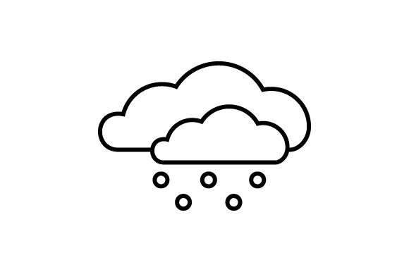 Download Free Snowy Weather Icon Svg Cut File By Creative Fabrica Crafts for Cricut Explore, Silhouette and other cutting machines.