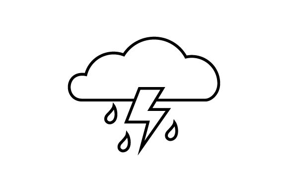Download Free Stormy Weather Icon Svg Cut File By Creative Fabrica Crafts for Cricut Explore, Silhouette and other cutting machines.