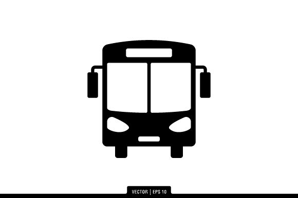 Download Free Bus Icon Vector Graphic By Fauzian1112 Creative Fabrica for Cricut Explore, Silhouette and other cutting machines.
