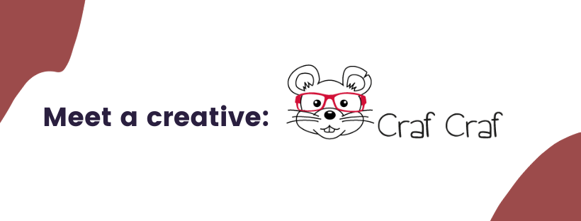 Download Free Meet A Creative Crafcraf Creative Fabrica for Cricut Explore, Silhouette and other cutting machines.