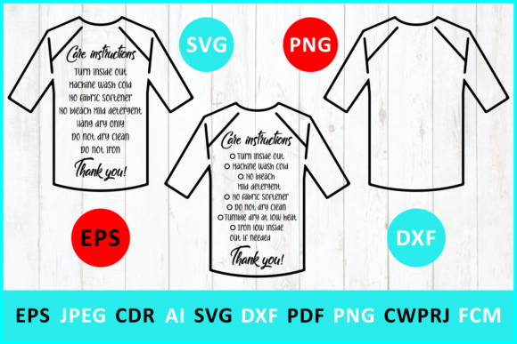 Download Free Care Instruction Baseball T Shirt Graphic By Millerzoa for Cricut Explore, Silhouette and other cutting machines.