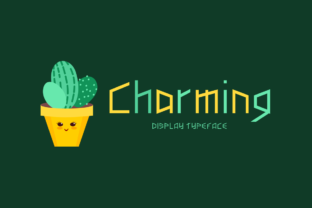 Print on Demand: Charming Display Font By Seemly Fonts