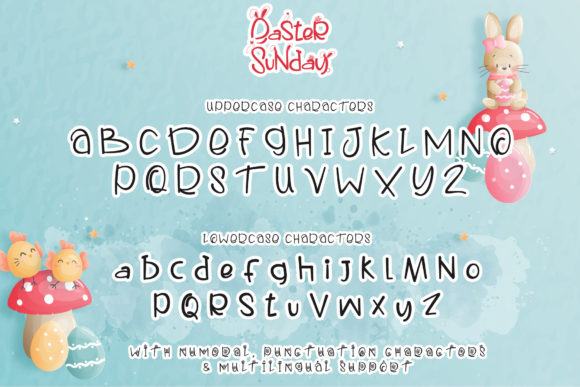 Print on Demand: Easter Sunday Script & Handwritten Font By thomasaradea - Image 7