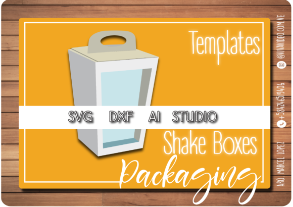 Faceted Shake Box Graphic Graphic Templates By Marcel de Cisneros