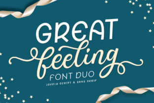Print on Demand: Great Feeling Duo Script & Handwritten Font By Subectype