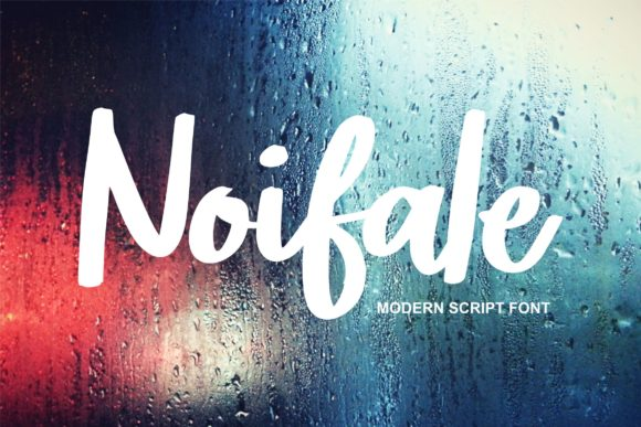 Print on Demand: Noifale Script & Handwritten Font By Vunira
