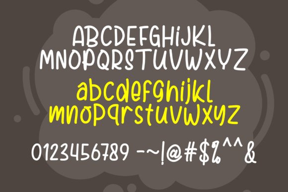 Print on Demand: Paw Fighter Display Font By figuree studio - Image 9