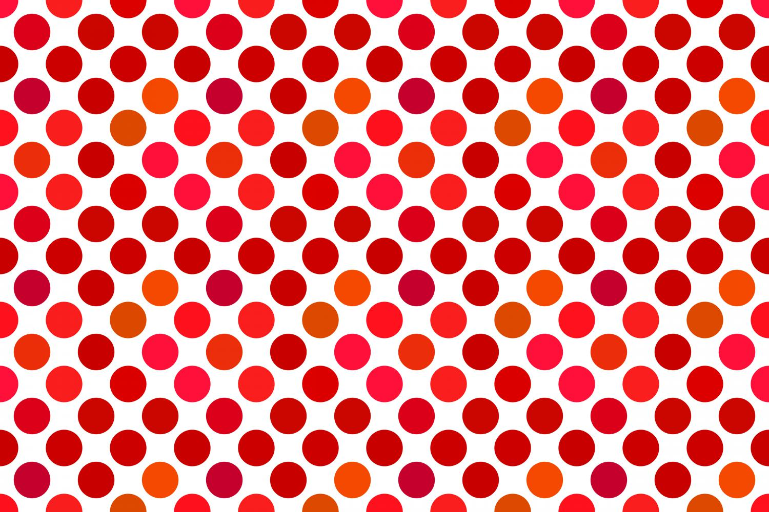 Download Free Seamless Red Dot Pattern Graphic By Davidzydd Creative Fabrica for Cricut Explore, Silhouette and other cutting machines.