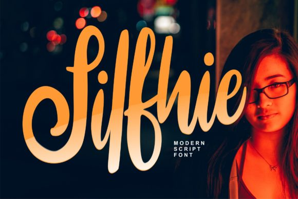 Print on Demand: Silfhie Script & Handwritten Font By Vunira