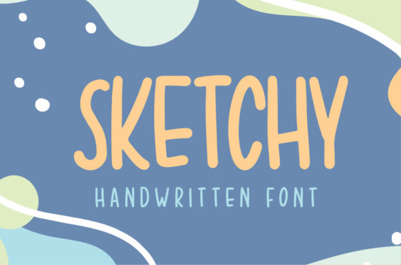 Print on Demand: Sketchy Manuscrita Fuente Por Sigit Dwipa