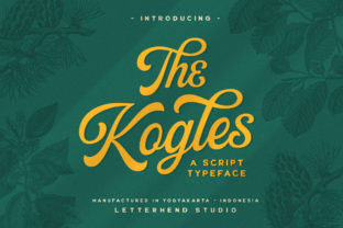Print on Demand: The Kogles Script & Handwritten Font By letterhend
