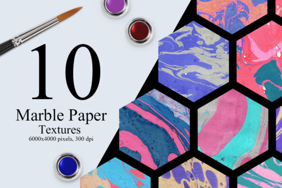 10 Marble Paper Textures Graphic Textures By Creative Fabrica Freebies - Image 1
