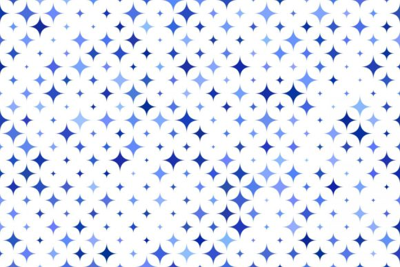 Blue Abstract Star Pattern Graphic Patterns By davidzydd