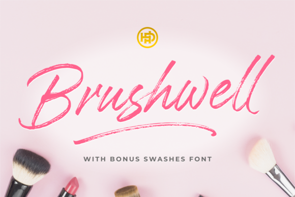Download Free Knight Brush Font By Hptypework Creative Fabrica for Cricut Explore, Silhouette and other cutting machines.