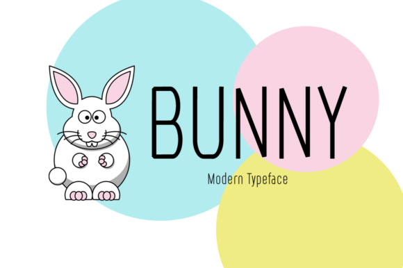 Print on Demand: Bunny Display Font By Seemly Fonts