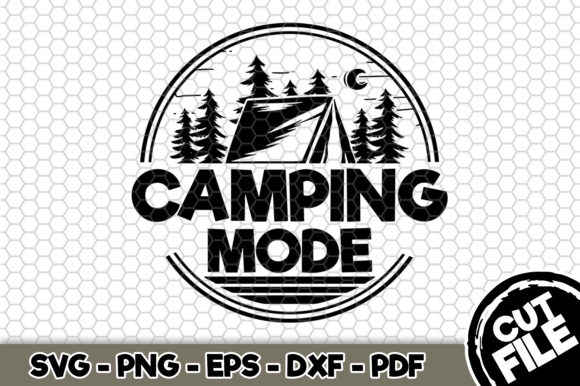 Print on Demand: Camping Mode Craft Graphic Crafts By SVGExpress