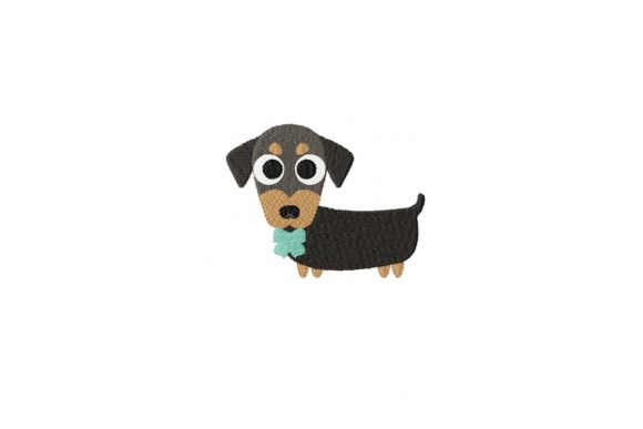 Download Free Dachshund Puppy Creative Fabrica for Cricut Explore, Silhouette and other cutting machines.