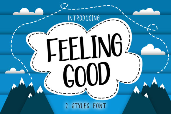 Print on Demand: Feeling Good Display Font By Madatype Studio