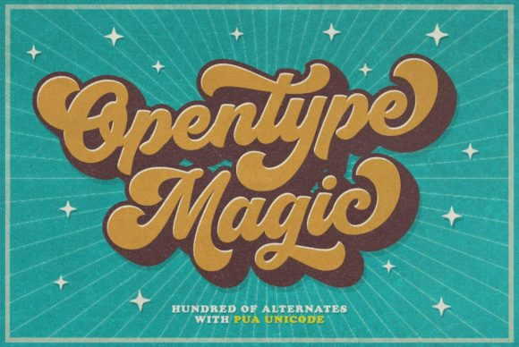 Print on Demand: Groovy Script & Handwritten Font By hptypework - Image 4