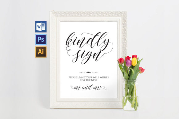Download Free Wedding Bathroom Signs Shr24 Graphic By Weddingprintables for Cricut Explore, Silhouette and other cutting machines.