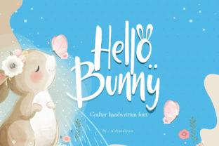 Print on Demand: Hello Bunny Display Font By ardyanatypes