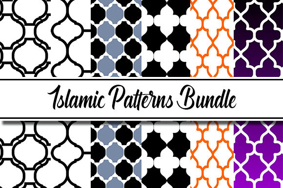 Download Free Islamic Patterns Design Graphic By Masyafi Creative Studio for Cricut Explore, Silhouette and other cutting machines.